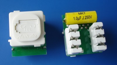 China manufacturer  8606UK TM-6102 UTP RJ11 Phone Voice keystone jack  factory