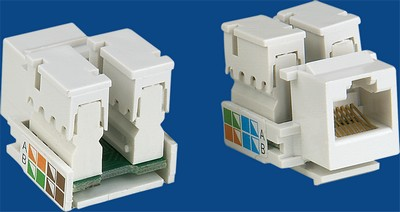 TM-8001 Cat.5e Data keystone jack TM-8001 Cat.5e Data keystone jack - Cat.6/Cat.5E RJ45 Network Keystone Jacks Κίνα κατασκευαστής