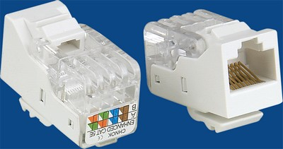 <b>TM-8003 Cat.5e Data keystone jack</b> TM-8003 Cat.5e Δικτύου Δεδομένων keystone jack - Cat.6/Cat.5E RJ45 Network Keystone Jacks κατασκευάζονται στην Κίνα