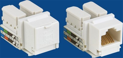 TM-8005.Cat.5E Data keystone jack TM-8005.Cat.5E Δικτύου Δεδομένων keystone jack - Cat.6/Cat.5E RJ45 Network Keystone Jacks κατασκευάζονται στην Κίνα