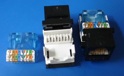 TM-8019 Cat.5e RJ45 Connector Data keystone jack TM-8019 Cat.5e RJ45 Connector Data keystone jack - Cat.6/Cat.5E RJ45 Network Keystone Jacks made in china