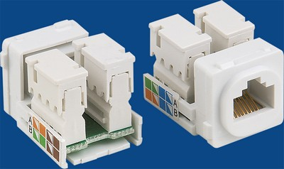 TM-8101 Cat.5e RJ45 Data keystone jack TM-8101 Cat.5e RJ45 Network Data keystone jack - Cat.6/Cat.5E RJ45 Network Keystone Jacks κατασκευάζονται στην Κίνα