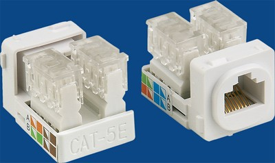 <b>TM-8103 Cat.5e RJ45 Data keystone jack</b> TM-8103 Cat.5e Τάπες Data keystone jack - Cat.6/Cat.5E RJ45 Network Keystone Jacks made in china