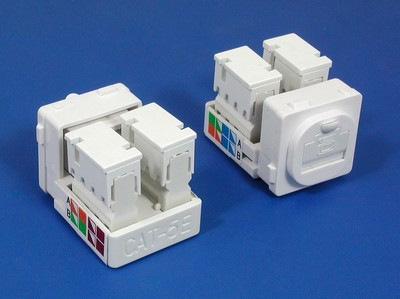 TM-8128 Cat.5e Network Καλώδια Data keystone jack TM-8128 Cat.5e RJ45 Network Καλώδια Data keystone jack - Cat.6/Cat.5E RJ45 Network Keystone Jacks made in china