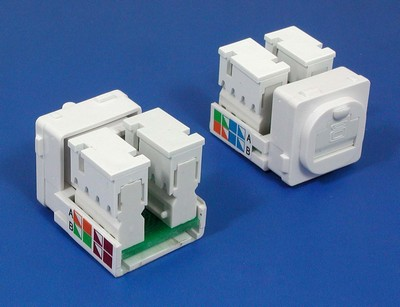 TM-8129 Cat.5e UTP Data keystone jack TM-8129 Cat.5e UTP Δικτύου Δεδομένων keystone jack - Cat.6/Cat.5E RJ45 Network Keystone Jacks κατασκευάζονται στην Κίνα